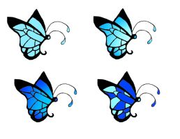 Butterfly Tattoos II by All-shall-fade