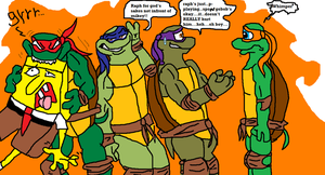 turtles move into nickelodeon by TMNTFAN85