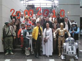Rebels at jedi-Con, Dusseldorf 2010 by locomotiva