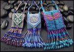 Amulet pouches by andromeda