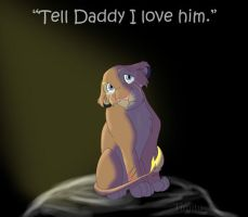 Tell Daddy I love him by Timitu