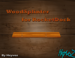 WoodSplinter for RocketDock by Heyvoz