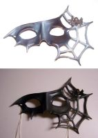 Spider Masquerade Mask by KalisCoraven