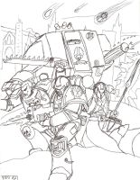Space Marines by ObsidianOrder