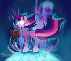 Dark Twilight Sparkle by JoeMasterPencil