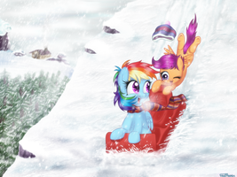[COM] ScootaDash Winter by FinalAspex