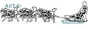 Celtic Dog Sled Team Tattoo by WildSpiritWolf