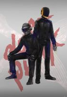 Daft Punk by quuurl