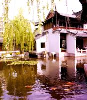 Chinese Gardens by Fudgee0