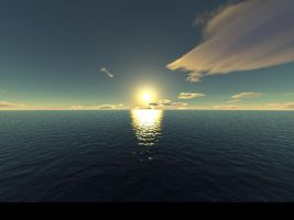 Sunset Photoreal by purity