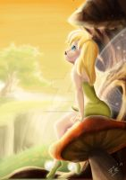 Tink Thinking by Panda-neko-pyon