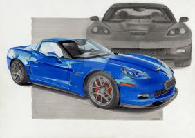 Chevrolet Corvette Z06 by dzart3