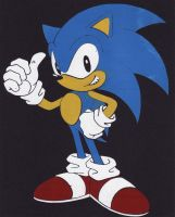 Sonic Screenprinting by Spinky1