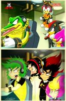 Team Chaotix - Screen Shot - Humanized by vaness96