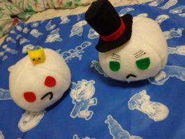 Prussia and England Plushie by chococat830
