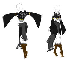 Fantasy clothing Adopt (CLOSED) by NightBlood-adopts