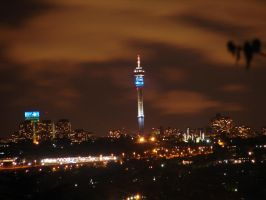 Jozi in the night - zoomed by NagWolf