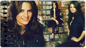 Stana Katic - Kate Beckett by go4music