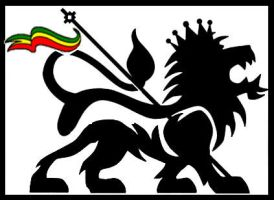 RastaFari Lion of Judah by G1g4Byt3