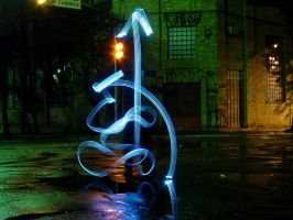 light graffiti I by roledeluz