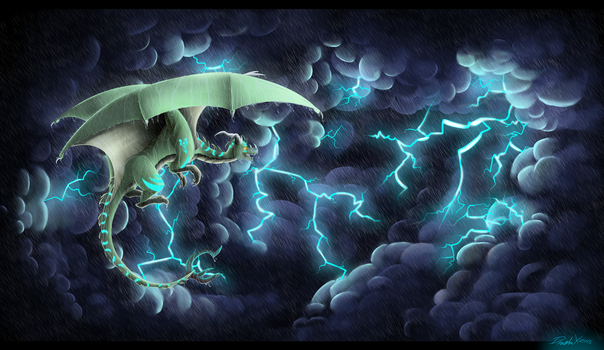 Across The Storm by DragbaX