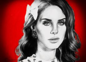 Lana Del Rey - Paris by davyrey