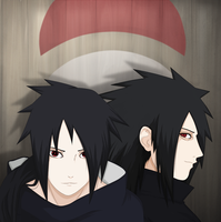 Uchiha brothers by FireEagleSpirit