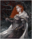 Welcome home, Queen Sansa by ProKriK