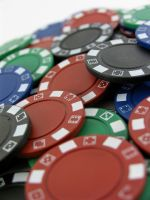 Stock - Poker Chip Series 8 by mystockphotos