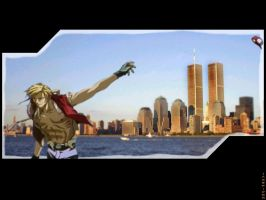 NYC - Terrys Salute by jaxspider