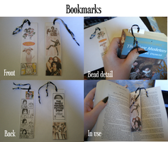 Bookmarks by cheese-stick