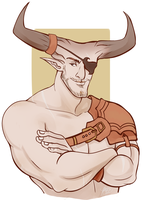 Iron Bull by naomi-makes-art73