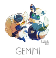 Pokemon Zodiac - Gemini by CuteSkitty