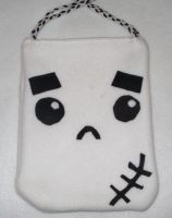 Otakumals - Emo Ghost Tote by EsperAqua