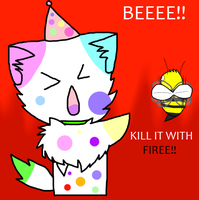 Kill it with FIRE! by Blisspaw