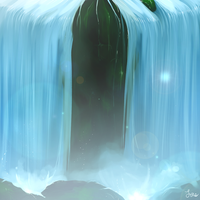 Waterfall - updated by Laenri