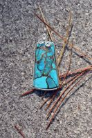 Brecciated Turquoise Keystone by magpie-poet