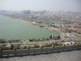 View from the top of the mountain by Laura-in-china