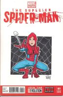 Mary Jane Sketch cover by gordzilla1971