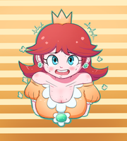 Daisy - Super Mario by Raveant