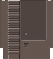 NES Cartridge [Pixel Art] by BLUEamnesiac