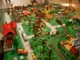 Lego Village 15 by V-kony