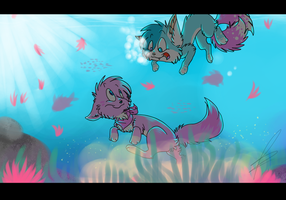 +Contest entry+ Once upon a sea by Cibibot