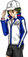 Pray For Japan - Echizen Ryoma by Magical-Tear
