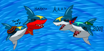 Shark Week - Sharpedo Fun by MegamanDragonoid