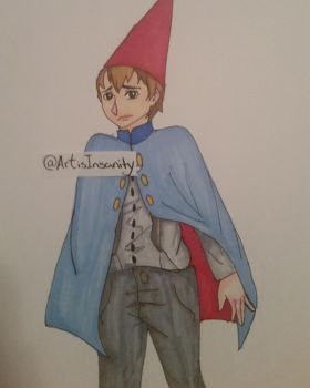 Over the Garden Wall: Wirt by ArtisInsanity