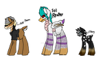 New Pony OCs: Ref sheets by ITACHILOVER1OF10