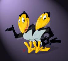 Heckle n Jeckle by Age-Velez