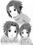 Young Sasuke. by ErinEhmazing