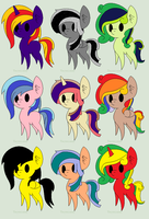 Pony Adopts 7 by doctorwhooves107